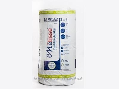 Métisse®, gamme d'isolant en coton recyclé Batiweb