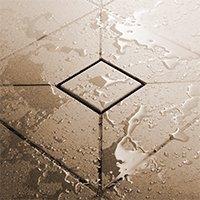 Douches à l'italienne sur mesure Schlüter®-KERDI-SHOWER Batiweb