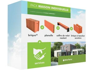 Pack maison individuelle, l'accompagnement pour un projet de construction éco-performant. Batiweb