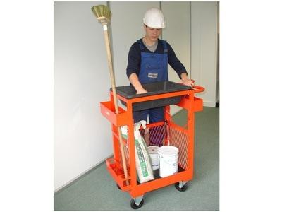 Chariot ergonomique pour travaux de finitions Batiweb