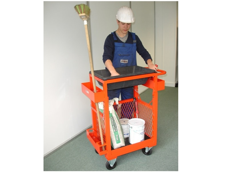 Chariot ergonomique pour travaux de finitions - Batiweb