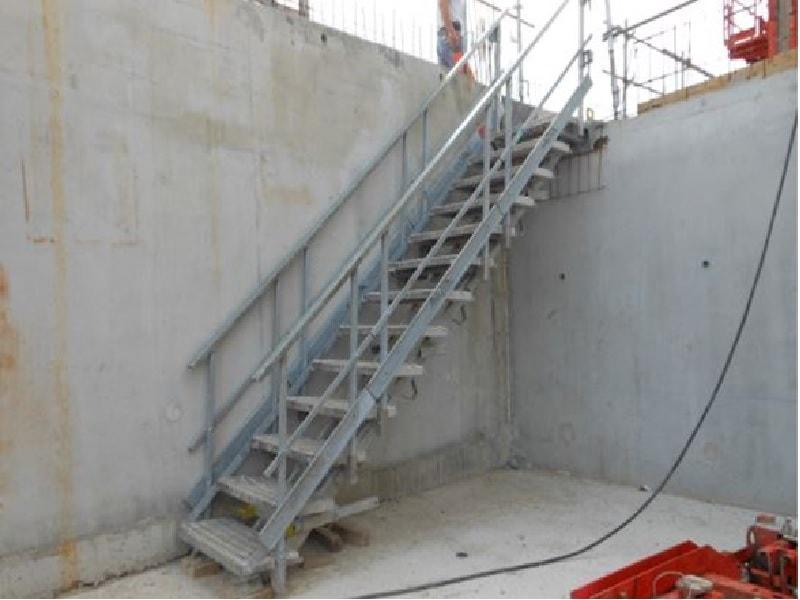 Escalier Modulaire d'Accès Provisoire - Batiweb