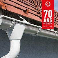 Gouttières en aluminium - Batiweb