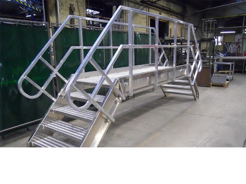 Saut de loup aluminium