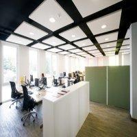 Plafond acoustique Ecophon Solo™ - Batiweb