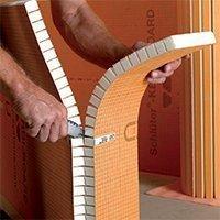 Panneaux d'agencement prêts à carreler murs et sols Schlüter®-KERDI-BOARD - Batiweb