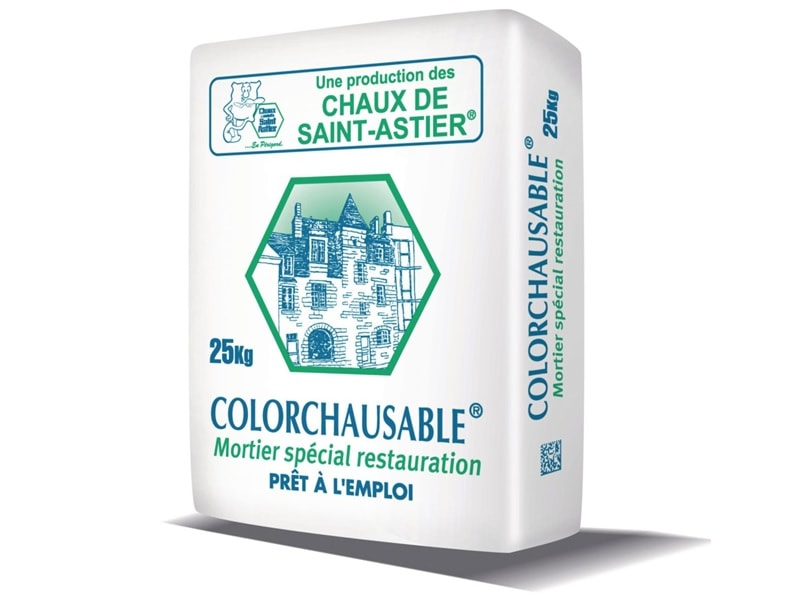 COLORCHAUSABLE®, Mortier de rénovation prêt à l'emploi