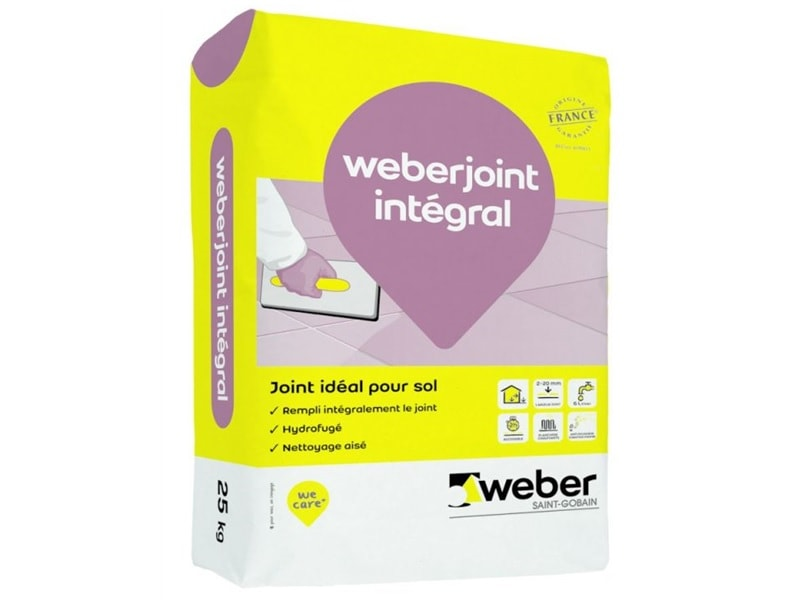 Mortier de jointoiement de carrelage : weber.joint integral - Batiweb