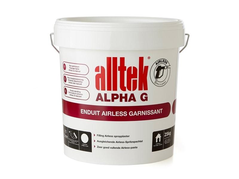 Enduit Alltek Alpha Garnissant - Batiweb