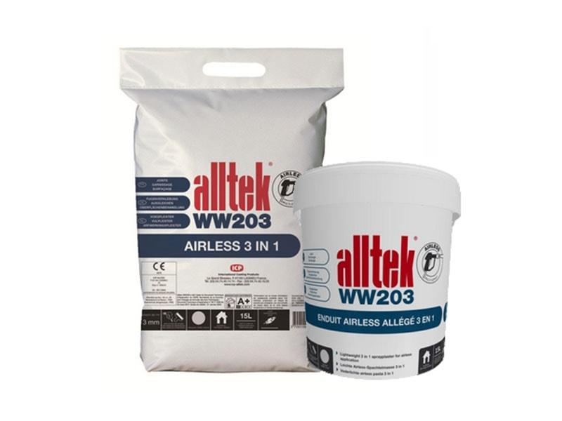 Alltek WW203, enduit pour garnir et débuller en application mécanisée - Batiweb