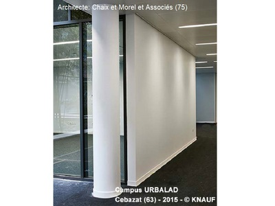 Cloison acoustique Knauf - KA Phonik Batiweb