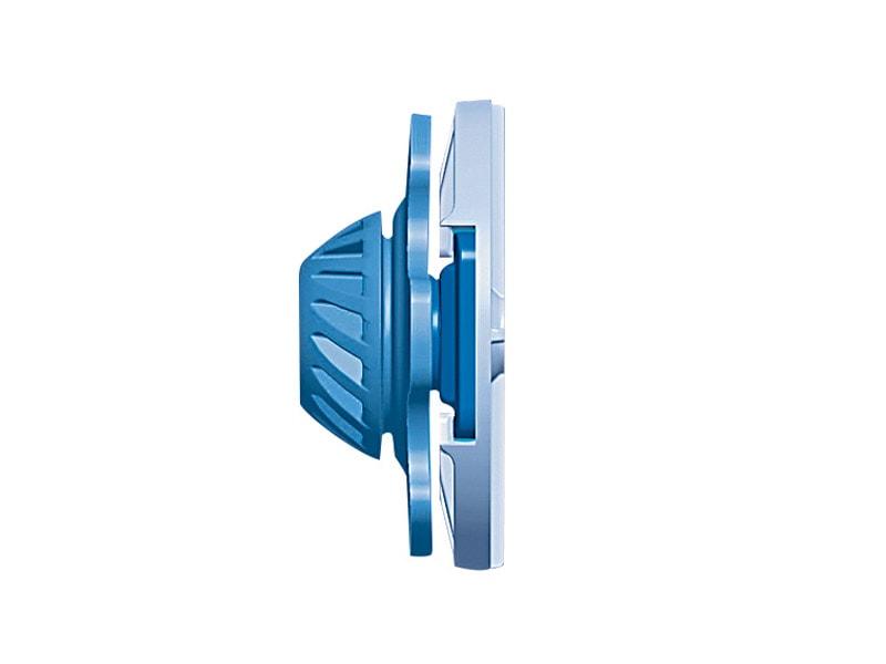 Système de contre-cloison avec plaque Knauf et isolant rigide - Knauf Easy Click