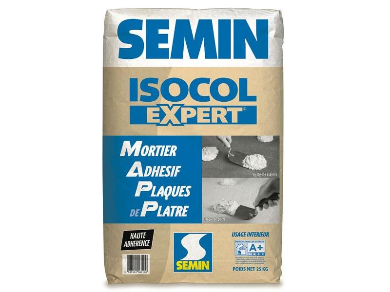 ISOCOL EXPERT, mortier adhésif - Batiweb