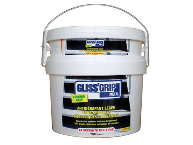 GLISS'GRIPMétal® - Traitement antidérapant pour le métal - Batiweb