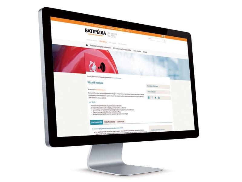 Thématique en ligne Sécurité incendie - Batiweb