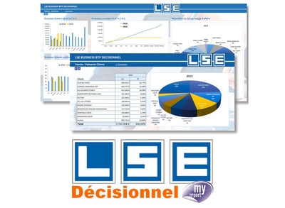 LSE DECISIONNEL avec MyReport© Batiweb