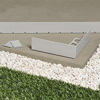 Profilé perforé pour balcons et terrasses sur plots Schlüter®-BARA-RWL - Batiweb