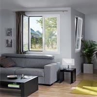 Fenêtres aluminium à la française Empreinte® - Batiweb