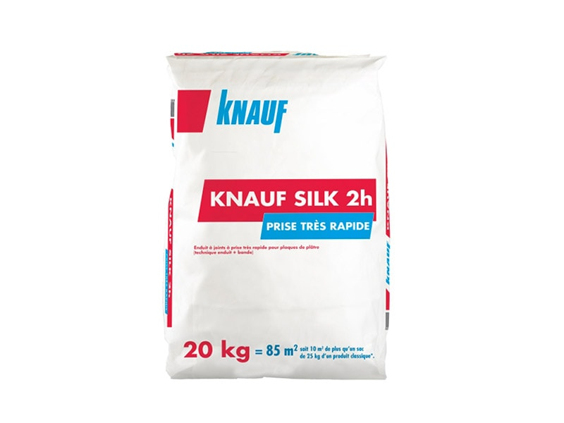 Knauf Silk 2h - enduit à joint à prise très rapide