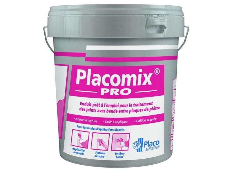 Placomix® Pro, enduit prêt à l'emploi - Batiweb