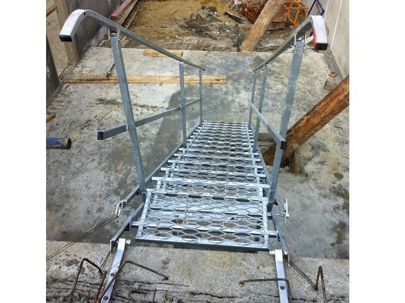 Escalier de chantier Economique (EMAP Eco) - Batiweb