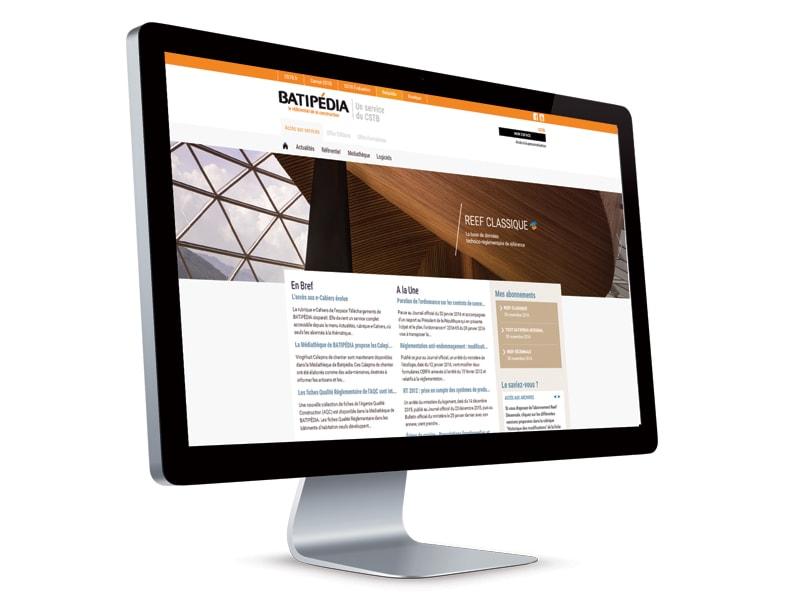 Thématique en ligne e-Cahiers - Batiweb