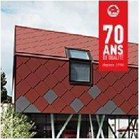 Losanges de toiture et de façade 44 x 44 - Batiweb