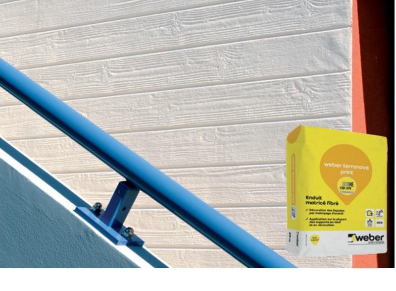 Relief et style pour vos façades avec weber terranova print ! - Batiweb
