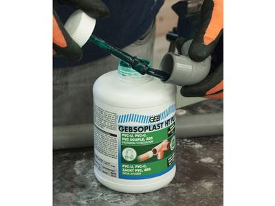 GEBSOPLAST HT PLUS, la colle haute performance technique & sanitaire Batiweb