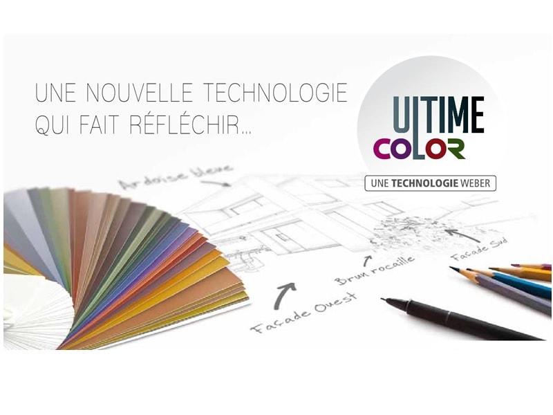 Ultime Color, nouvelle technologie pour des teintes d'enduits soutenues sans limite - Batiweb