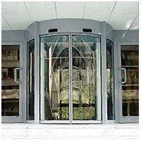 Porte automatique Ronde ou Cintrée