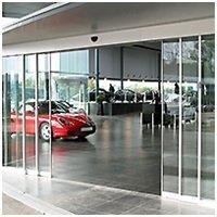 Porte automatique Télescopique