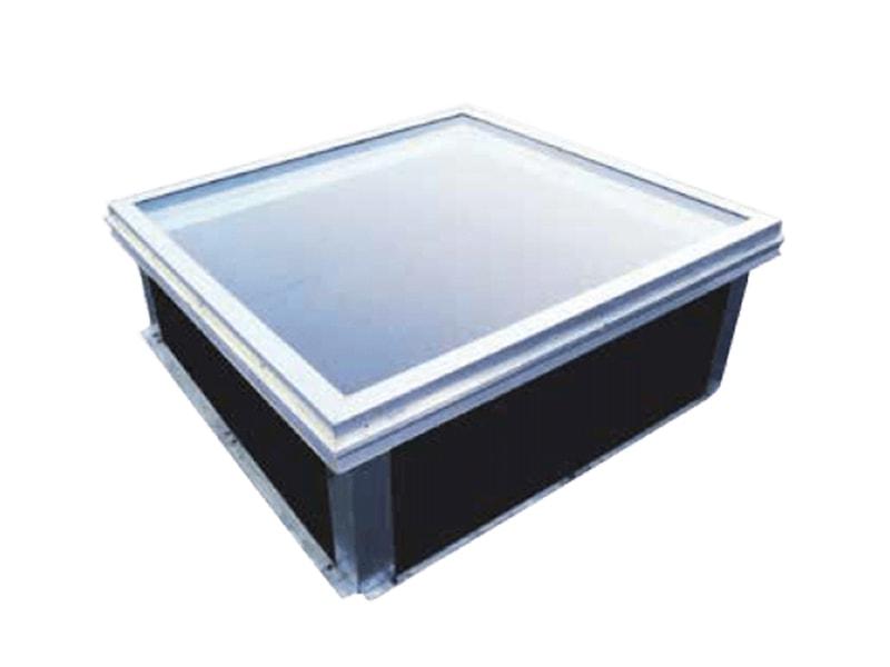 STEEL INSIDE, gamme lanterneaux et exutoires avec remplissage verre - Batiweb