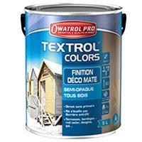 Textrol colors, finitions déco mâte - semi-opaque tous bois Batiweb