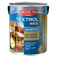 Textrol HES, saturateur monocouche bois tendres