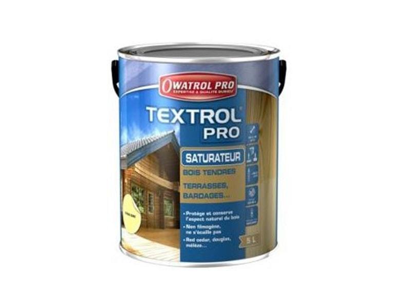 Textrol pro, saturateur spécial bois tendre - Batiweb