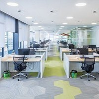 Plafond suspendu Ecophon Focus™ Ds Batiweb