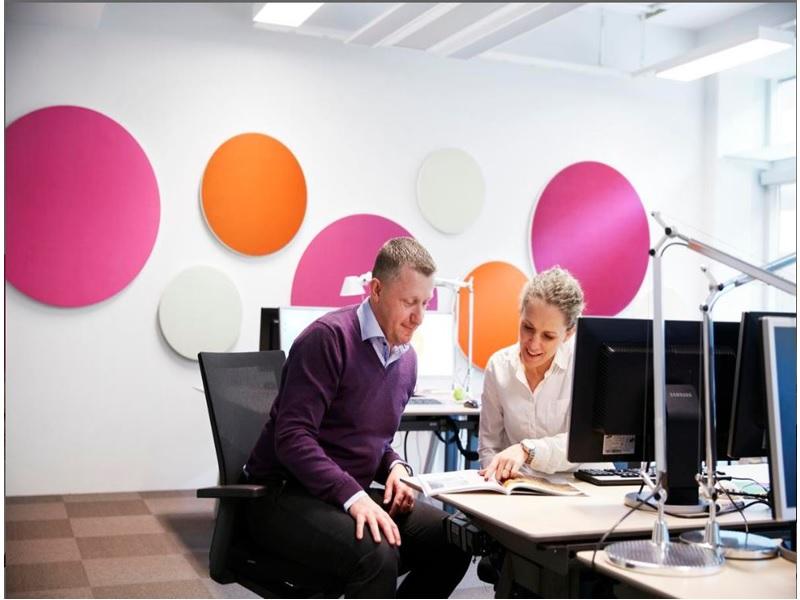Panneaux muraux Ecophon Akusto™  One SQ - Batiweb