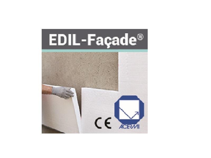 Nouveau Panneau isolant en Polystyrène Expansé  EDIL-Façade® - Batiweb