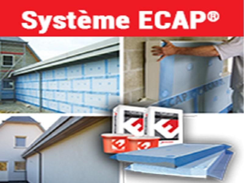 Nouveau Système ITE en plaques semi-finies ECAP® - Batiweb