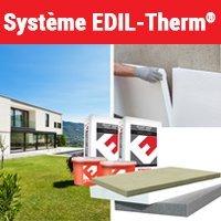 Système ITE par enduit mince EDIL-Therm® - Batiweb