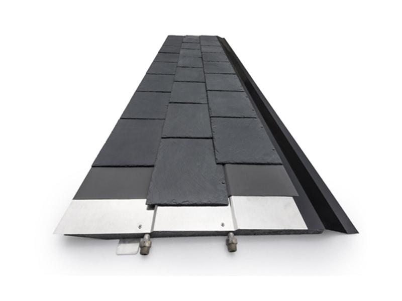 Ardoise solaire, Thermoslate système avec crochet - Batiweb