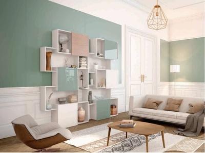 Revêtement mural et décoration de mobilier avec le verre laqué Lacobel Batiweb