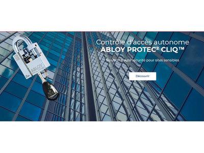 ABLOY PROTEC2 CLIQ - Contrôle d'accès autonome Batiweb