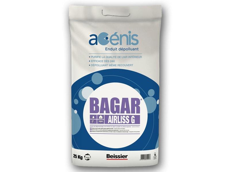 BAGAR AIRLISS G Acénis - Enduit dépolluant de dégrossissage spécial airless