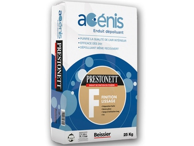 PRESTONETT F Acénis - Enduit dépolluant de lissage en intérieur Batiweb