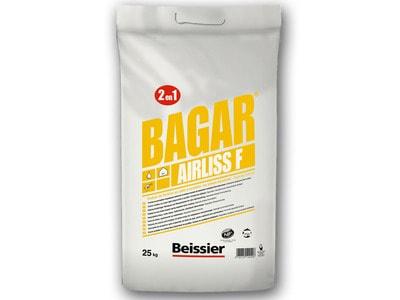 Enduit de finition 2 en 1 en pâte à projeter Spécial airless - BAGAR AIRLISS F Batiweb