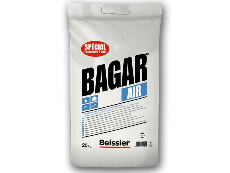 Enduit d'étanchéité à l'air en pâte à projeter - BAGAR AIR - Batiweb
