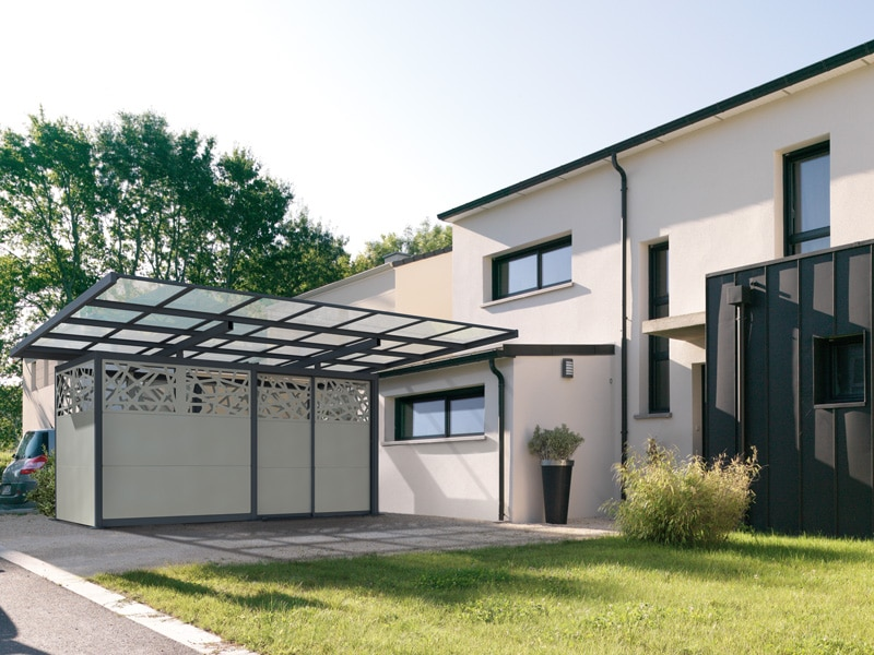 Le Carbox Audace de Novoferm, une alternative au garage traditionnel - Batiweb