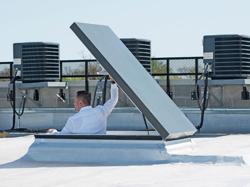 Sortie pour toits plats FAKRO type R - Batiweb